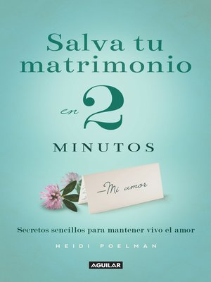 cover image of Salva tu matrimonio en 2 minutos