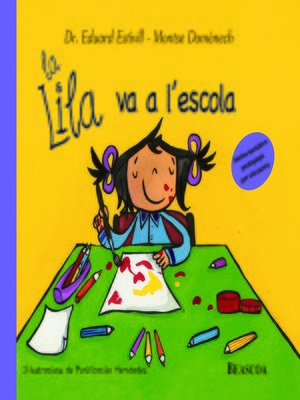 cover image of La Lila va a l'escola