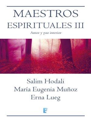 cover image of Maestros Espirituales Iii