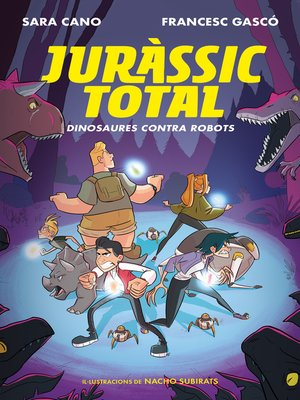 cover image of Dinosaures contra robots