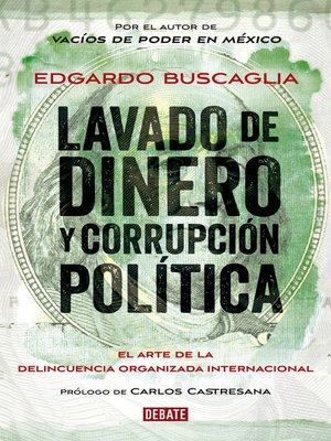 cover image of Lavado de dinero y corrupción política
