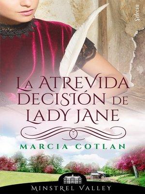 cover image of La atrevida decisión de Lady Jane