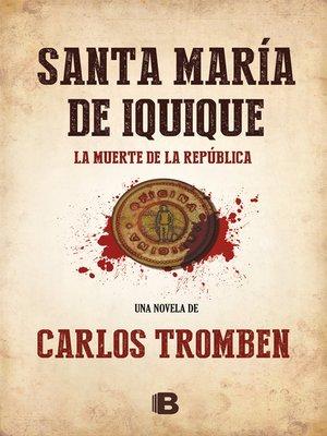 cover image of Santa María de Iquique