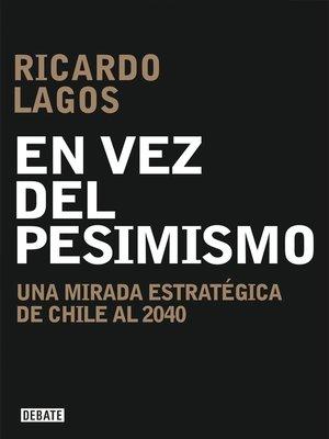 cover image of En vez del pesimismo