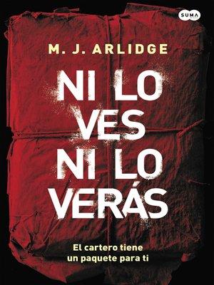 cover image of Ni lo ves ni lo verás (Inspectora Helen Grace 2)