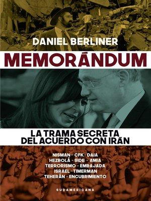 cover image of Memorándum