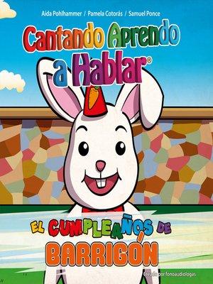 cover image of El cumpleaños de Barrigón
