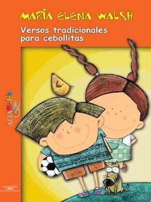 cover image of Versos tradicionales para cebollitas