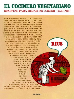 cover image of El cocinero vegetariano
