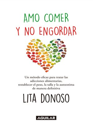 cover image of Yo amo comer y no engordar