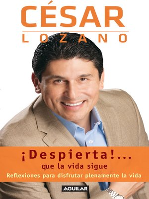 cover image of ¡Despierta!... que la vida sigue