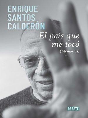 cover image of El país que me tocó