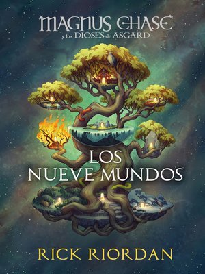 cover image of Magnus Chase y los nueve mundos