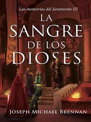 cover image of La sangre de los Dioses