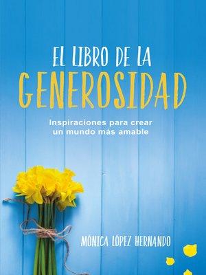 cover image of El libro de la generosidad