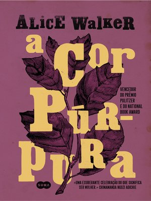 cover image of A Cor Púrpura