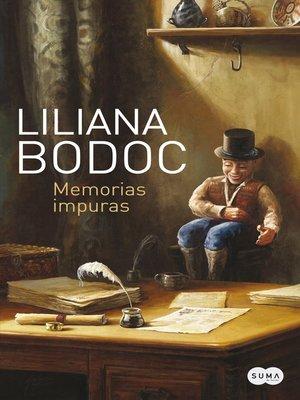 cover image of Memorias impuras