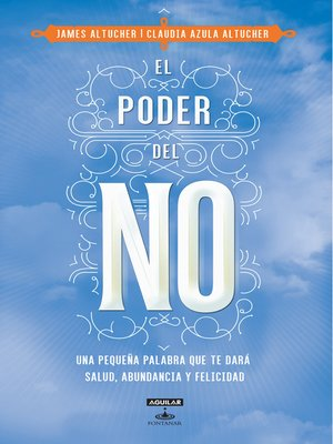 cover image of El poder del NO