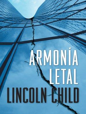 cover image of Armonía letal