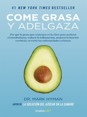 cover image of Come grasa y adelgaza