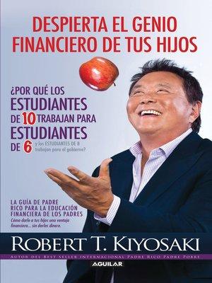 cover image of Despierta el genio financiero de tus hijos