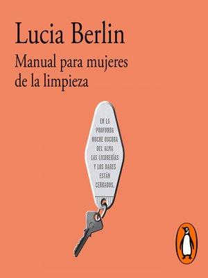 cover image of Manual para mujeres de la limpieza