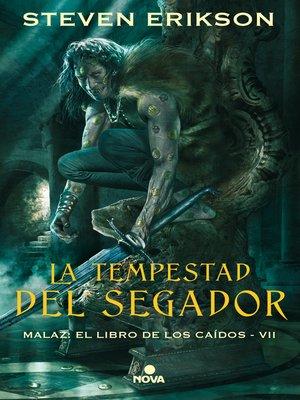 cover image of La tempestad del segador