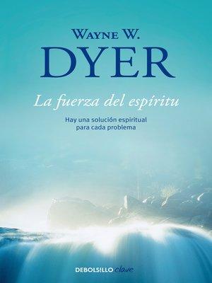 cover image of La fuerza del espíritu