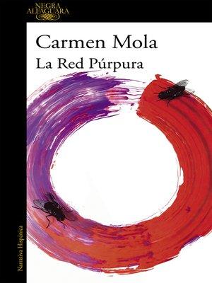 cover image of La red púrpura