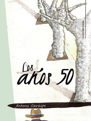 cover image of Los años 50