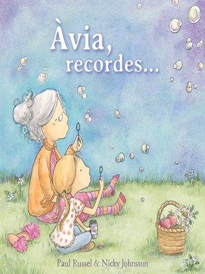 cover image of Àvia, recordes...