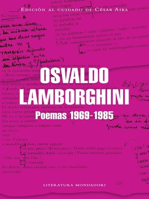 cover image of Poemas 1969-1985