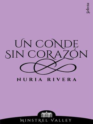 cover image of Un conde sin corazón