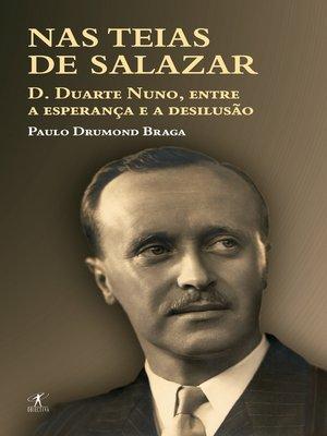 cover image of Nas teias de Salazar