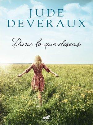 cover image of Dime lo que deseas