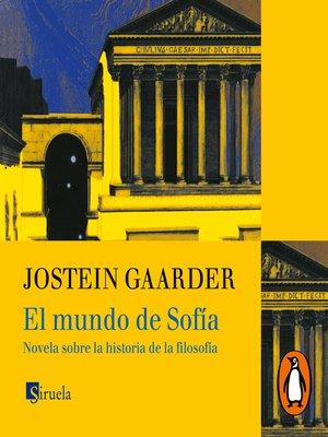 cover image of El mundo de Sofía
