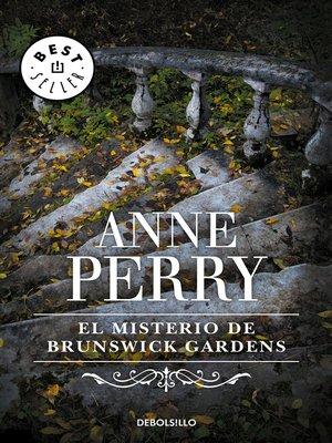 cover image of EL misterio de Brunswick Gardens