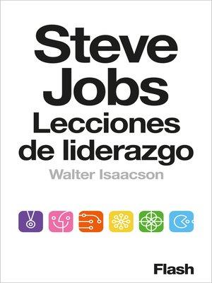 cover image of Steve Jobs. Lecciones de liderazgo