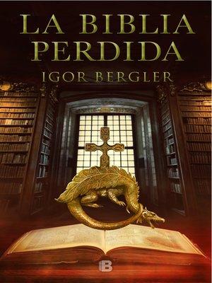 cover image of La Biblia perdida