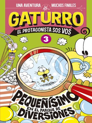 cover image of Gaturro. Pequeñísimo en el parque de diversiones