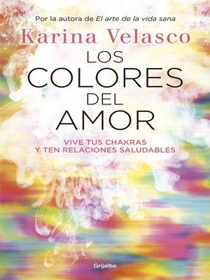 cover image of Los colores del amor