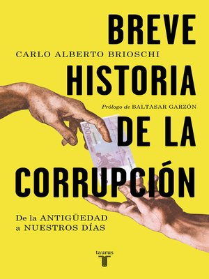 cover image of Breve historia de la corrupción