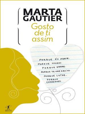 cover image of Gosto de ti assim