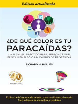 cover image of ¿De qué color es tu paracaídas?