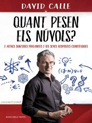 cover image of Quant pesen els núvols?