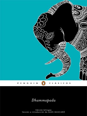 cover image of Dhammapada (edición bilingüe) (Los mejores clásicos)