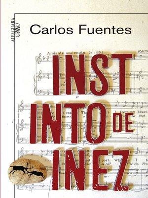cover image of Instinto de Inez