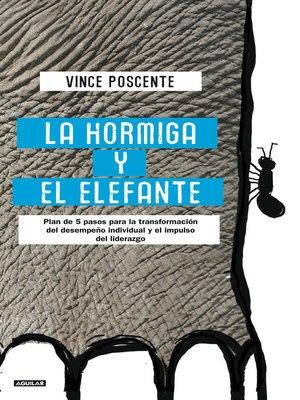 cover image of La hormiga y el elefante