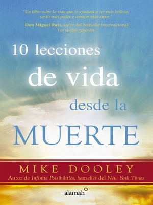 cover image of 10 lecciones de vida desde la muerte