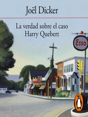 cover image of La verdad sobre el caso Harry Quebert
